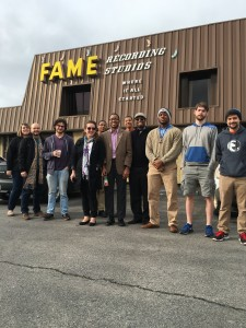 CSU Students at FAME Studios