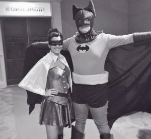 Jim Pharr as Batman!