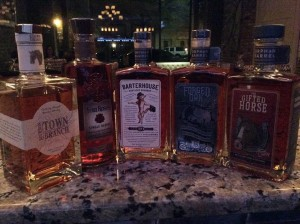 A few labels, just added this month, to their collection of bourbons: Town Branch, Four Roses Single Barrel and from Orphan Barrel, The Gifted Horse, Forged Oak & Barterhouse!