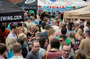 Uptown's Beer & Wine Festival, Fall of 2015