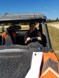 My first time in an ATV. No injuries occurred.